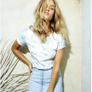 PAIGE Cotton Cassandra Tee NWT